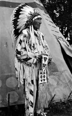 Paul Little Walker - Blackfoot (Siksika) - circa 1935