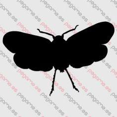 Pegame.es Online Decals Shop  #animal #moth #insect #vinyl #sticker #pegatina #vinilo #stencil #decal