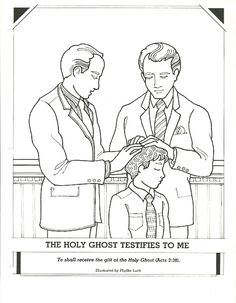 Restoration of the church, Coloring Page, Primary 3