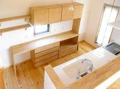 新築 造作 食器棚 - Google 検索