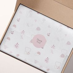 Name Card Design, Wrapping Paper Design, Branding, Name Cards, Packaging Design Inspiration, Baby Design, Paper Gifts, Digital Pattern, Tissue Paper