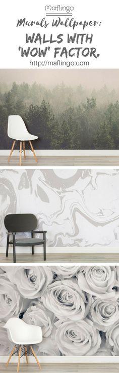 house ideas Murals Wallpaper offer an extensive range of beautiful mural wallpaper themes to create Photo Wallpaper, Wall Wallpaper, Ikea Baby Nursery, Office Wallpaper, Designer Wallpaper, Wallpaper Designs, Wallpaper Ideas, Diy Garden Decor, Cool Walls