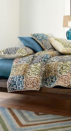 Senica Quilt #bedroom #bedding #home #decor