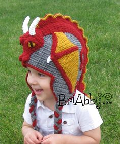 Ravelry: Dragon Hat pattern by Joni Memmott / BriAbby