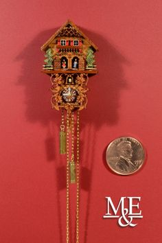 "Miniature Cuckoo Clock ""Double"""