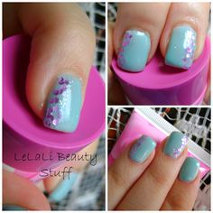 LeLaLi Beauty Stuff: NOTM: Turquoise and Purple Turquoise And Purple, Beauty Stuff, Nail Polish, Nails, Finger Nails, Ongles, Nail, Polish, Nail Manicure