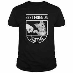 Awesome Tee Dog shirt Yorkie Best Friends For Life pet lover tee shirt man Shirts & Tees Shirt Diy, Mens Tee Shirts, Cat Shirts, Dog Shirt, Shirt Shop, Funny Shirts, Cool Tees, Cool T Shirts, Ride Out