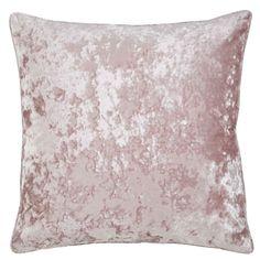 Crushed Velvet Luxury Blush Pink Duvet Cover Set – Ideal Textiles Velvet Duvet, Velvet Cushions, Large Cushions, Pink Curtains, Pink Tone, Pink Velvet, Crushed Velvet, Elegant, Duvet Cover Sets
