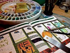 Meet Gina Rossi Armfield, author of No Excuses Art Journaling, in this artist profile!