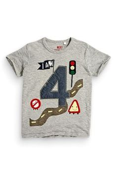 Buy I Am Age Vehicles T-Shirt (1-6yrs) from the Next UK online shop