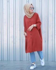 30 Beautiful Styles of Hijab Fashion Trend 2017 ! - hijab tips - 30 Beautifu. 30 Beautiful Styles of Hijab Fashion Trend 2017 ! – hijab tips – 30 Beautiful Styles of Hij Islamic Fashion, Muslim Fashion, Modest Fashion, Street Hijab Fashion, Denim Fashion, Fashion Outfits, Hijab Fashion Summer, Casual Hijab Outfit, Hijab Chic