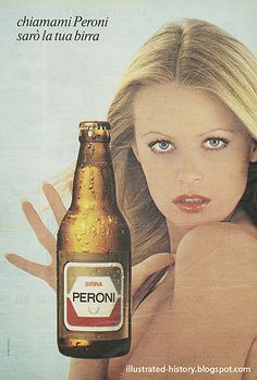 Pubblicità BIRRA PERONI 1974  #TuscanyAgriturismoGiratola Vintage Italian Posters, Poster Vintage, Vintage Ads, Beer Magazine, Non Plus Ultra, Beer Poster, Old Advertisements, Vintage Italy, Old Ads