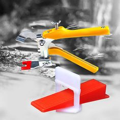 Wedges Clips Clamping Plier Spacer Tool Z16B8 Tile Floor Leveler Zebra Set