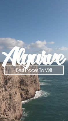 Algarve Top 10 - Best places to visit Algarve, Cabo, Portugal, Self Driving, Small World, Cool Places To Visit, Gin, Dubai, Channel