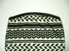 vintage 70s white and black geometric tank top / dress
