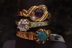 Antique Jewelry Stack