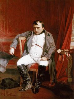 Paul Delaroche Napoleon Emperor Defeated at Fontainebleau painting, oil on canvas & frame; Paul Delaroche Napoleon Emperor Defeated at Fontainebleau is shipped worldwide, 60 days money back guarantee. Paul Delaroche, Jean Leon, Classical Art Memes, Lawrence Alma Tadema, Fontainebleau, French Empire, French Revolution, Napoleonic Wars, Kaiser