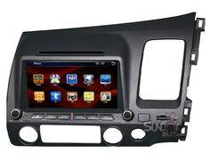 $439  Honda Civic Car GPS Touchscreen DVD Upgrade