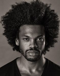 [NATURAL HAIR MEN] Giving face and natural hair... #naturalhair
