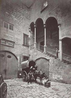 Barcelona, carrer Moncada 1905-1920.