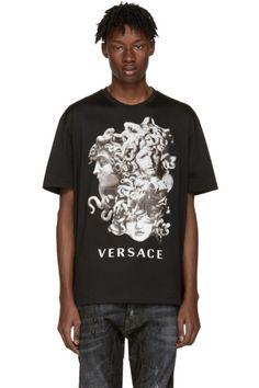 Versace - Black Medusa T-Shirt