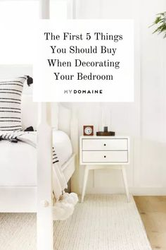 Planning to move into a new place soon? Here are 5 bedroom essentials we recommend purchasing first to make your new room feel like a personal oasis. New Room, Make It Yourself, How To Plan, Decor, Decoration, Decorating, Deco