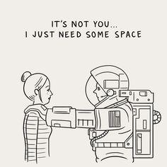 20 of the best visual puns from illustrator Matt Blease Space Man, Matt Blease, Grafik Design, Caricature, Illustrations Posters, Illustration Art, Character Design, Hilarious, Quotes