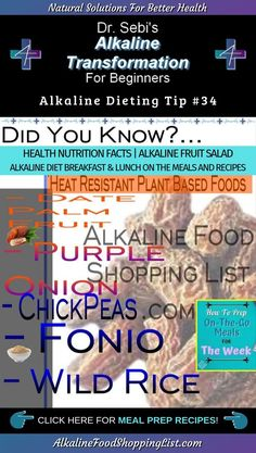 Sebi's Alkaline Transformation For Beginners Tip Alkaline Fruits, Alkaline Diet Plan, Alkaline Diet Recipes, Healthy Vegan Snacks, Healthy Food Options, Healthy Meals, Health And Nutrition, Health And Wellness, Vegan Recipes Beginner