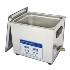 10L Professional Digital Ultrasonic Cleaner Machine with Timer Heated Cleaning tank 110V/220V