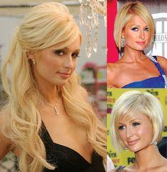 Paris Hilton también se ve mejor con el cabello corto