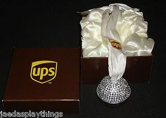 002e11e1b2b UPS Ornament United Parcel Service Seasons of Cannon Falls Metal Bell +  Box. Featuring a