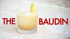 How To Make The Baudin New Orleans Cocktail -Drinks Made Easy