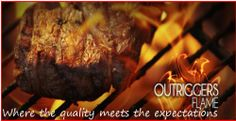 Outriggers Flame steak house has a lot to offer!!!