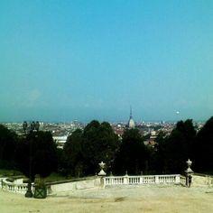"""Vista su #Torino Foto by Elena Tubaro From """"#YesTorinoTips"""" story by Yes! Torino on Storify — http://storify.com/yestorino/yestorinotips"""