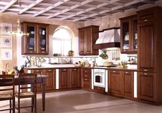 Modern Kitchen Furniture 2015 Awesome Design With Modern Wood Kitchen Cabinets 2015 Wallpaper On Kitchen Kitchen Cabinets Light Wood, Kitchen Cabinet Design, Kitchen Cabinetry, Kitchen Units, Wood Cabinets, Small Kitchen Design Images, Contemporary Kitchen Furniture, Modern Contemporary, Solid Wood Kitchens