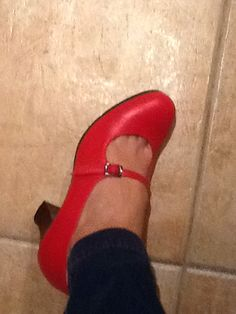 Thank you, Begoña Cervera, for these flamenco mary janes.