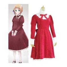 Axis Powers Hetailia Liechtenstein Red Cosplay Costume For Sale