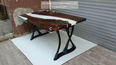 """90 Beğenme, 0 Yorum - Instagram'da LEGNOROFFICIAL (@legnorofficial): """"it is ready to ship for 🇺🇲 #möbel #ebaykleinanzeigen #esstisch #epoxidharz #epoxidharztischplatte…"""" Epoxy Resin Table, Diy Welding, Drafting Desk, Design, Furniture, Instagram, Home Decor, Mesas, Dinner Table"""