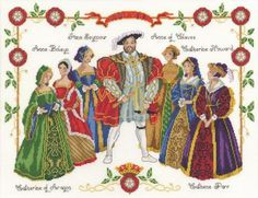 Henry VIII and his wives. I MUST DO THIS ONE!!!