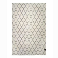 Classic Collection - Matta - Trellis vit/grå 250x350 cm