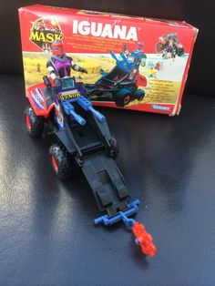 M.A.S.K IGUANA complete with box - Kenner toy