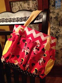 Small boho bag! Minnie Mouse