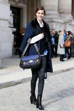 Pauline Hoarau, street style