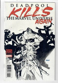 DEADPOOL KILLS THE MARVEL UNIVERSE AGAIN #1 - NM - B&W&Red Dave Johnson variant!  http://www.ebay.com/itm/DEADPOOL-KILLS-MARVEL-UNIVERSE-AGAIN-1-NM-B-W-Red-Dave-Johnson-variant-/302485004800?roken=cUgayN&soutkn=iKJeKA