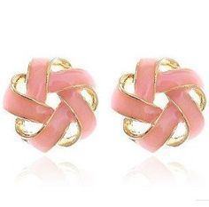 Fashion OL For Ladies Pink Wool Shaped Earrings,2012 New Korean Earrings Free shipping! on AliExpress.com. 10% off $ 1.79