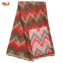Mr. Z Hohe Qualität Afrikanische Tüll Stoff 2016 Polyester Nigerianischen Stoff Für Hochzeit Neuesten Französisch Spitze Nigerianischen Stoff N1052(China (Mainland))