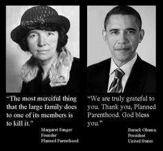 Barack Obama: Leading the charge in the extermination of millions of unborn black human beings.