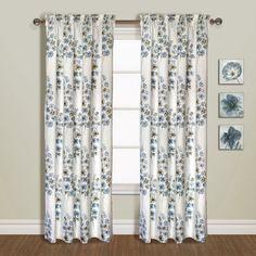 United Curtain Chelsea Curtain Set Blue - UNTD160-16