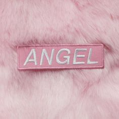 KOKO TUMBLR ANGEL PATCH (7,37 BGN) ❤ liked on Polyvore featuring accessories