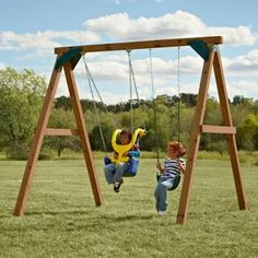 Swings on pinterest swing sets swings and adult swing for Do it yourself swing